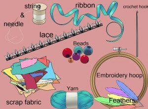 Materiales necesarios para realizar tu atrapasueños de ganchillo