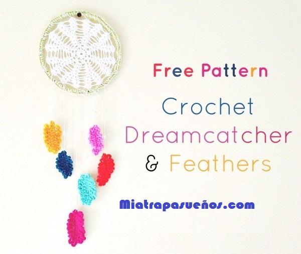 Guia en la que te enseñaremos a realizar tu propio atrapasueños de crochet