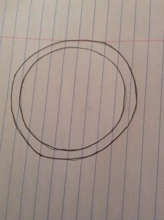 Hacer un circulo a lapiz